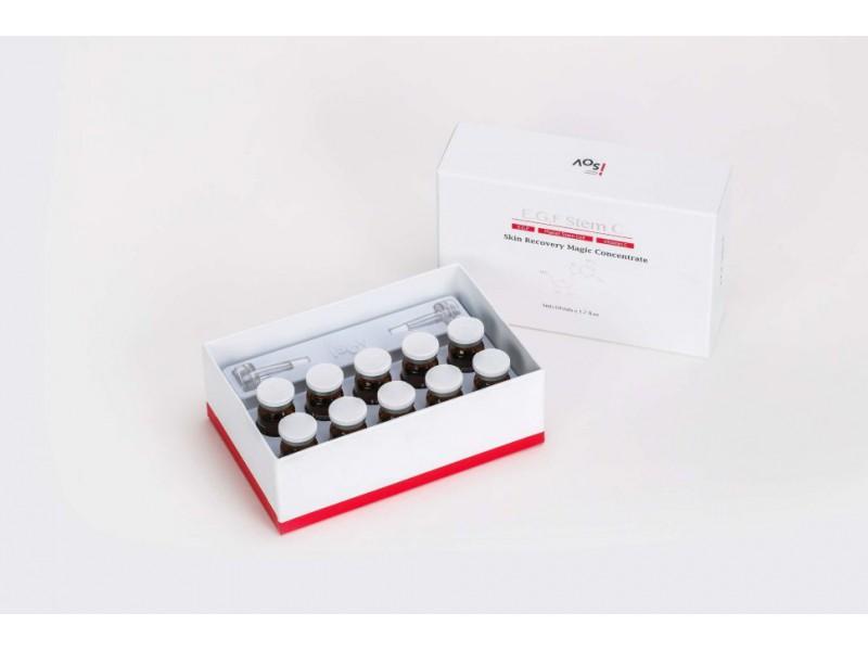 Набор для фракционной мезотерапии 5 мл* 10 шт EGF STEM C Isov Sorex