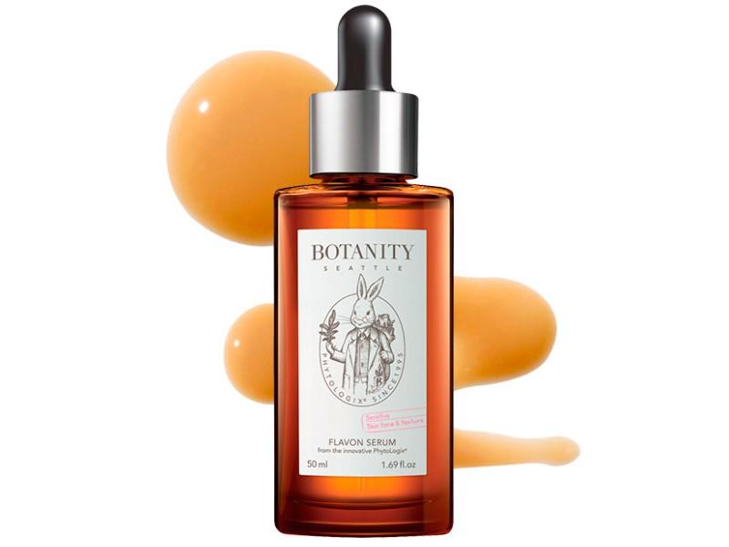 Успокаивающая сыворотка для лица Botanity Flavon Serum