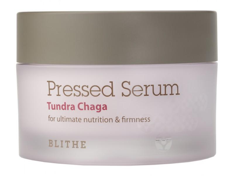 Спрессованная сыворотка-крем антивозрастная Tundra Chaga Blithe