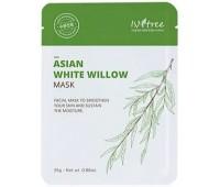 Маска с экстрактом азиатской белой ивы Asian White Willow Mask Isntree