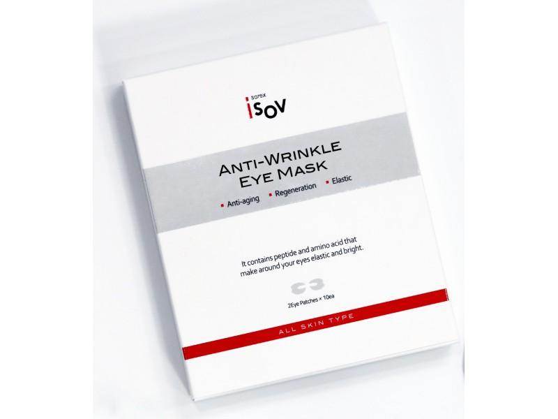 Омолаживающие патчи тканевые под глаза Anti-wrinkle Eye Mask (30шт*30г) Isov Sorex