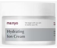 Увлажняющий крем с гиалуроновой кислотой hydrating ion cream Manyo Factory