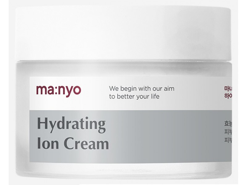 Увлажняющий крем с гиалуроновой кислотой hyaluronic acid hydrating repair cream Manyo Factory
