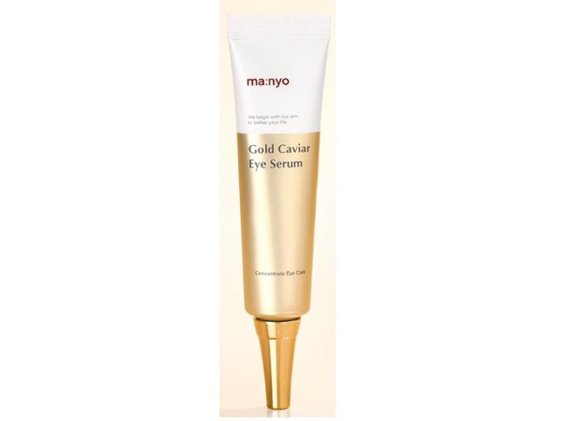 Вита гель для глаз с экстрактом икры - Gold caviar eye serum Manyo Factory