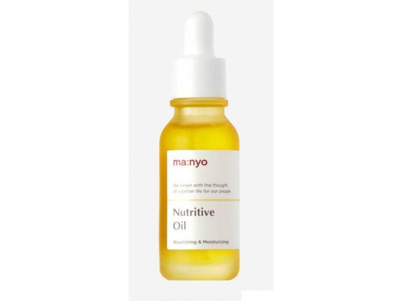 Концентрированное питательное масло для лица - Nutritive oil Manyo factory