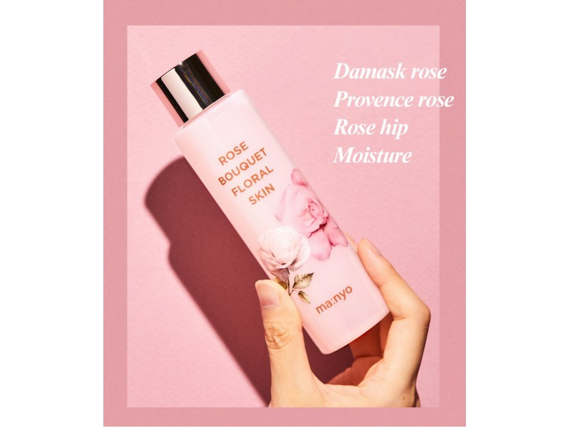 Цветочный скин Rose Bouquet Floral Skin Manyo
