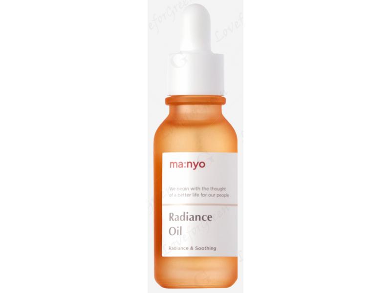 увлажняющее масло для лица с эффектом сияния ultra moist radiance oil manyo factory