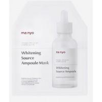 Интенсивная отбеливающая маска для лица - Manyo factory whitening source ampoule mask