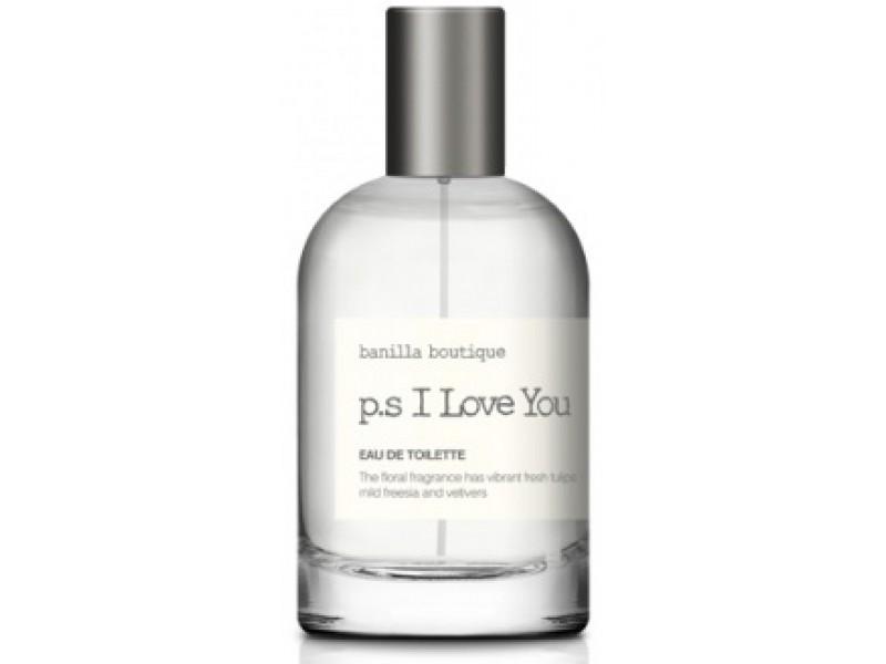Туалетная вода фруктово-цветочный аромат P.S I love You banilla boutique fragrance fruity floral Manyo Factory