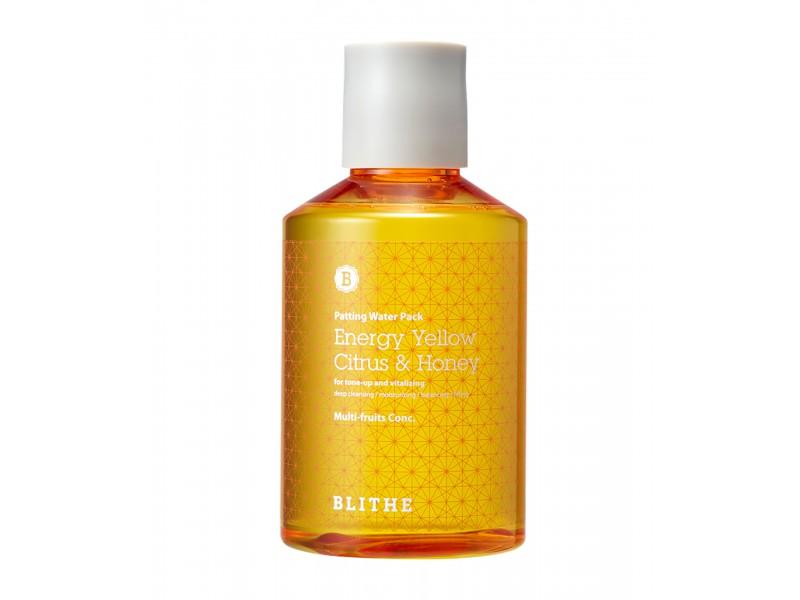 Сплэш-маска с молочной кислотой, витамином С и медом Energy Yellow Citrus and Honey Blithe