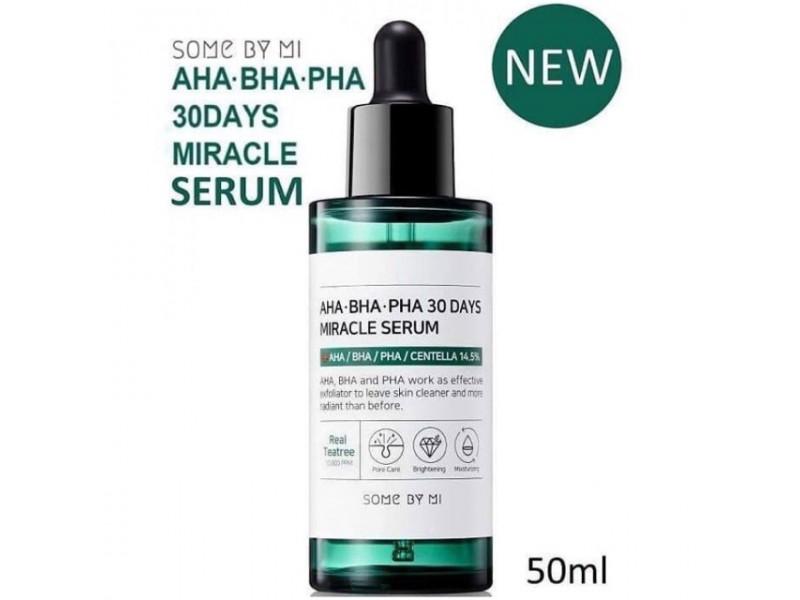 Эссенция для проблемной кожи Some By Mi AHA-BHA-PHA 30 Days Miracle Serum