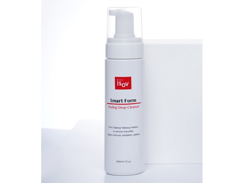 Пенка очищающая 200 мл Smart Form Peeling Deep Cleanser Isov Sorex