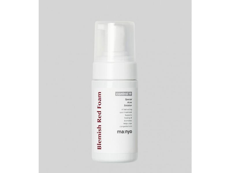 Очищающая пенка для проблемной кожи Blemish red foam manyo