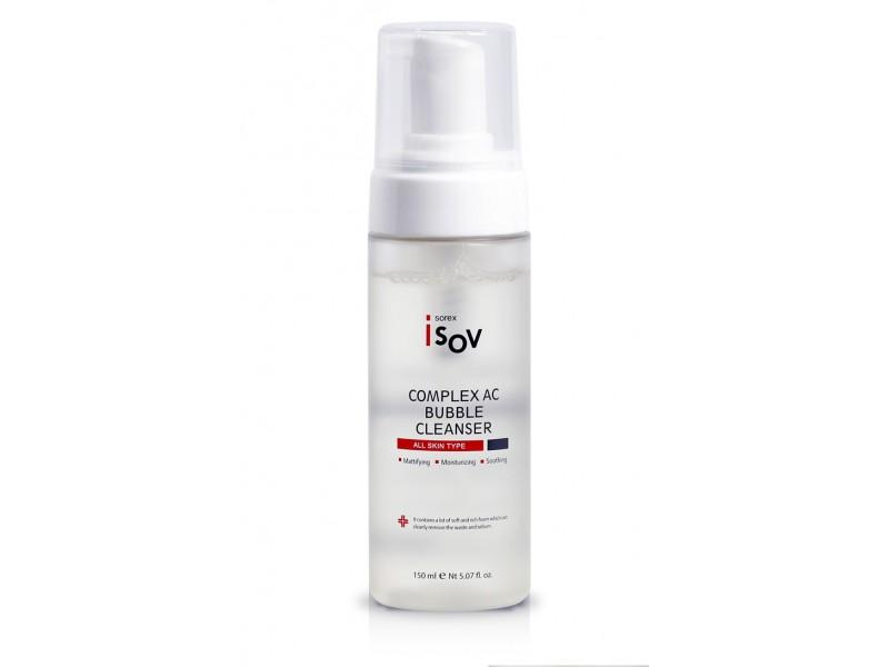 Очищающая пенка для проблемной кожи 150 мл Complex AC Bubble Cleanser Isov Sorex