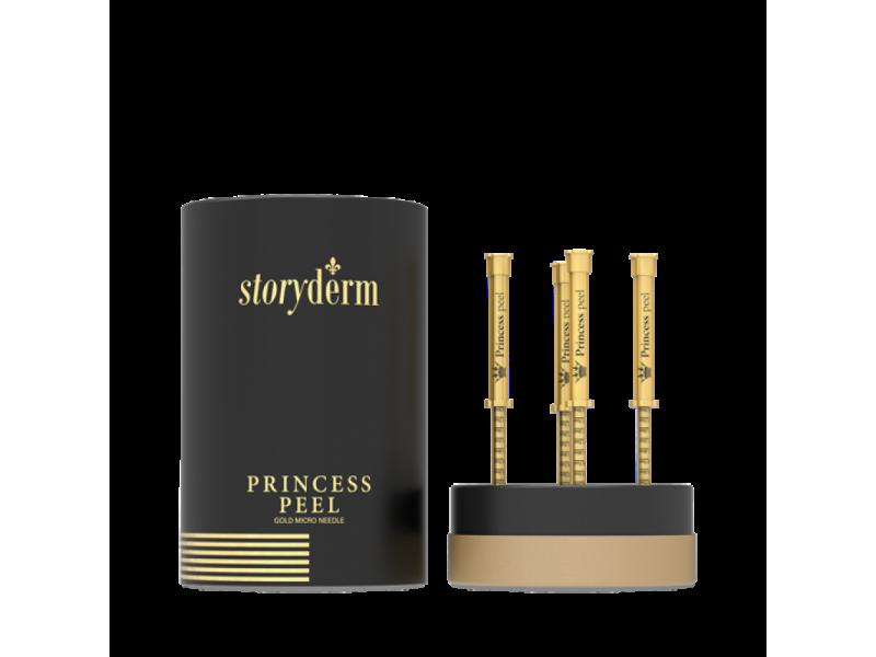 Пилинг - крем с золотыми микроиглами 4*2 мл Storyderm Princess Peel