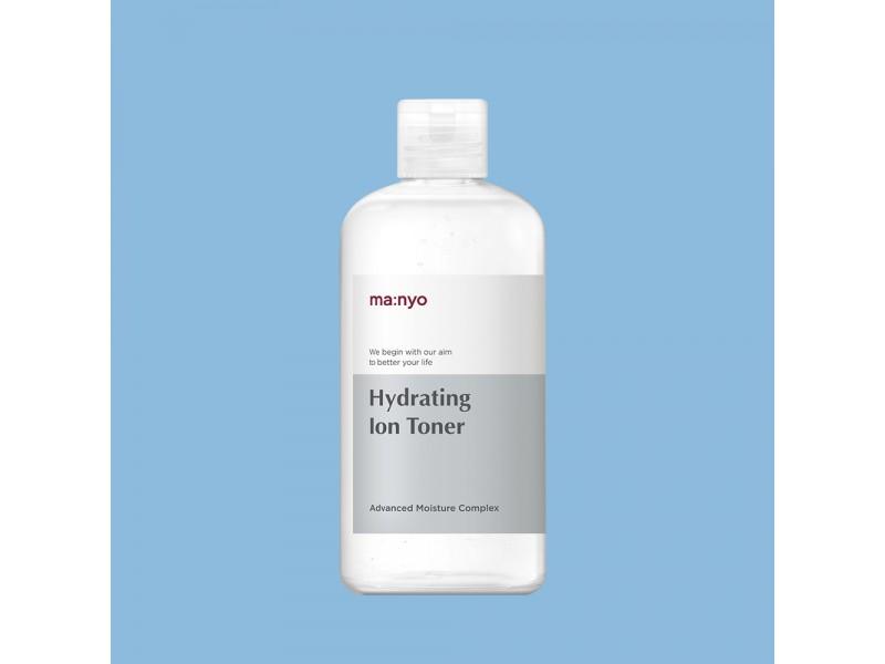 Увлажняющий тонер с гиалуроновой кислотой Hydrating Ion toner Manyo Factory